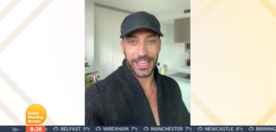 Giovanni Pernice sends message to Ranvir Singh