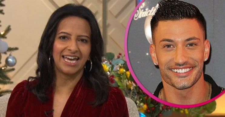 Ranvir Singh and Giovanni Pernice