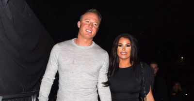 former towie star jess with with fiance William Lee-Kemp