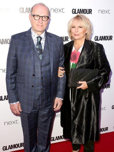 Jennifer Saunders and husband Adrian Edmondson