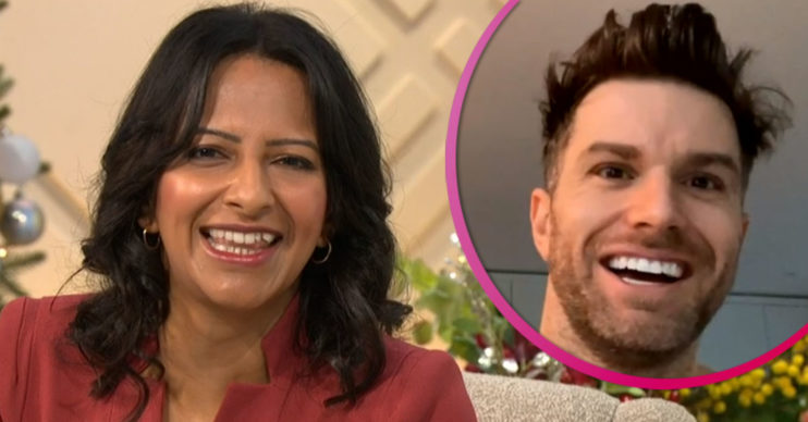 Ranvir Singh flirts with Joel Dommett on Lorraine