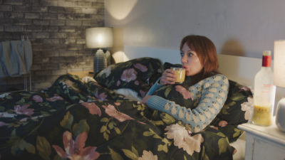 Diane Morgan as Liz in the Motherland Christmas special