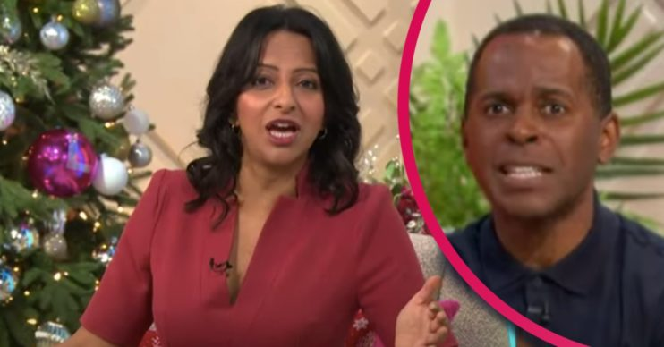 ranvir singh on lorraine itv and andi peters