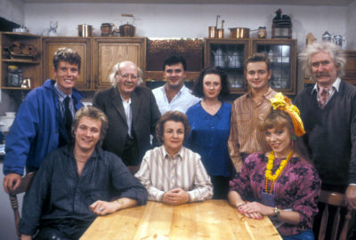The cast of Bread