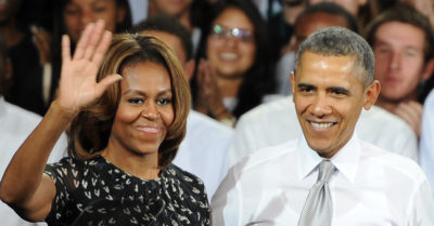 president obama with wife michelle