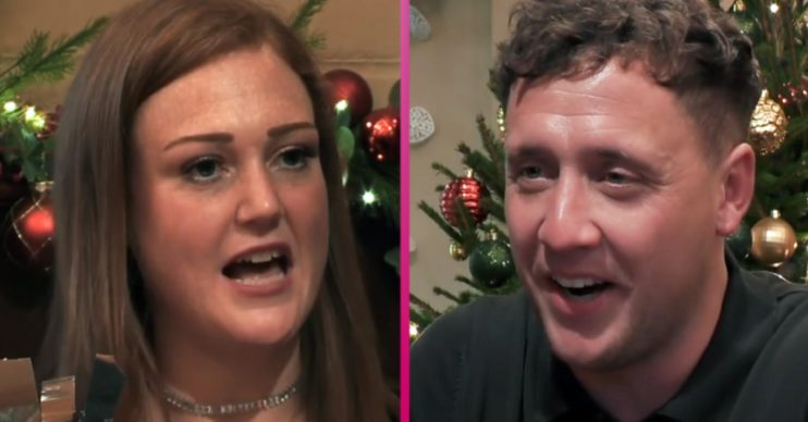 First Dates Christmas special hopefuls Holly and Shane