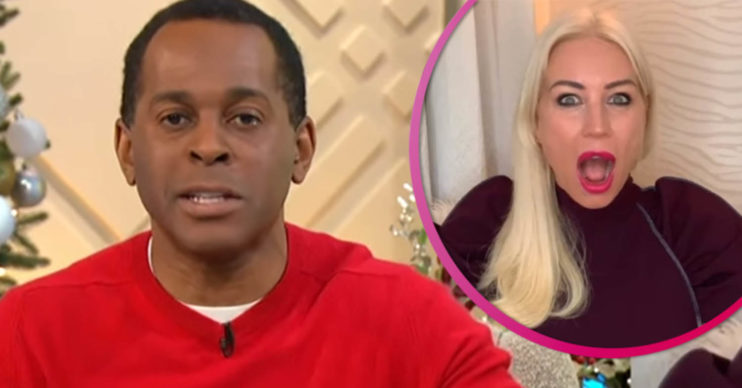 Dancing On Ice star Andi Peters
