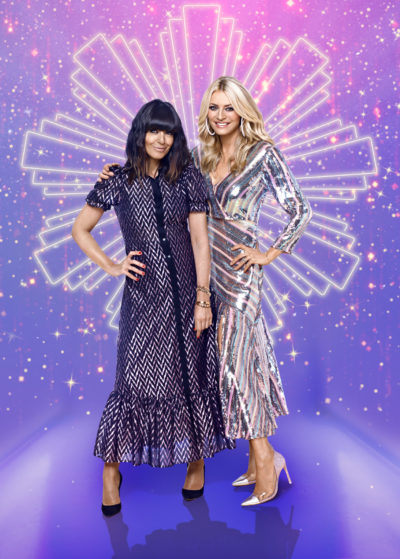 Tess Daly and Claudia Winkleman on Strict: The Christmas Countdown