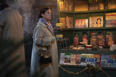 Katie Lyons in Call The Midwife Christmas special