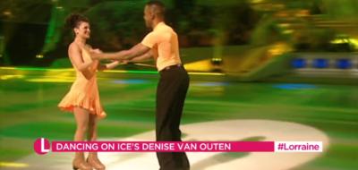 Andi Peters on Lorraine DAncing On Ice