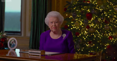 the queen christmas day speech