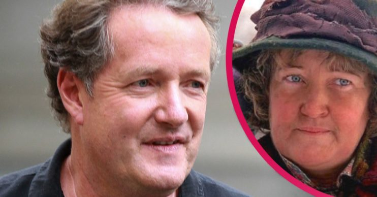 piers morgan and the pigeon lady