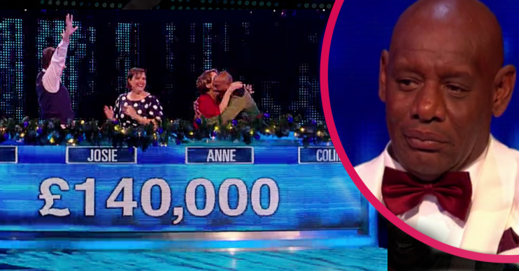 The panel won 140k on The Chase Christmas special