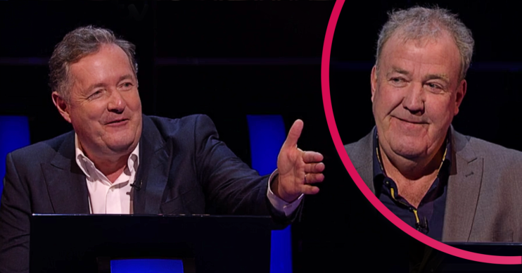 Jeremy Clarkson and Piers Morgan on Who Wants To Be A Millionaire