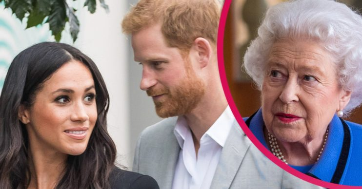 prince harry and meghan markle megxit 2021