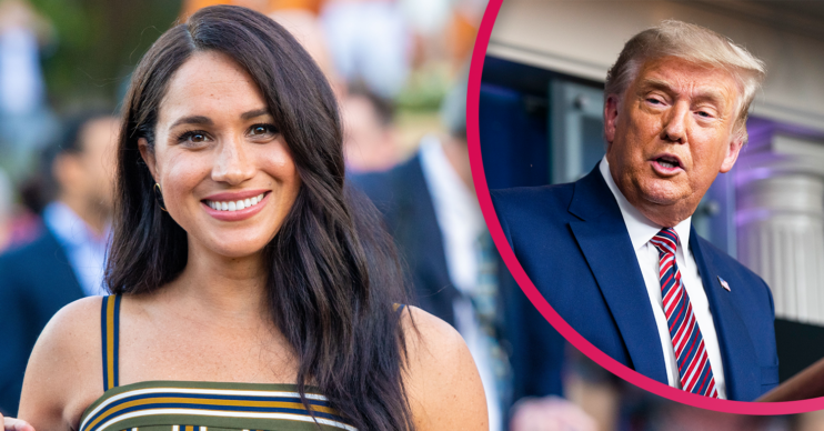 Meghan Markle and Donald Trump