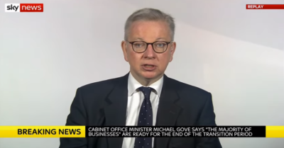 Michael Gove on schools reopening in January