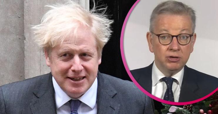 Boris Johnson and Michael Gove - schools in January