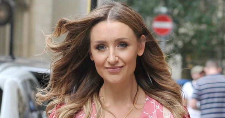 Catherine Tyldesley lost her eyebrows while starring in Holby City