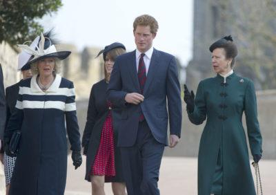 Camilla with Princess Anne
