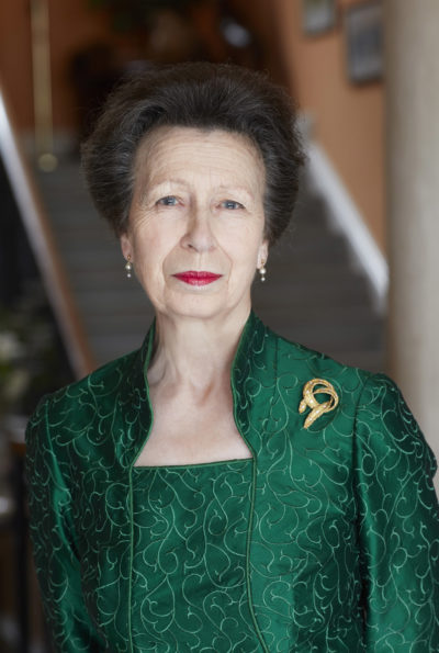 Official picture of Princess Anne