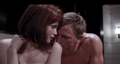 Gemma Arterton starred alongside Daniel Craig in Quantum Of Solace