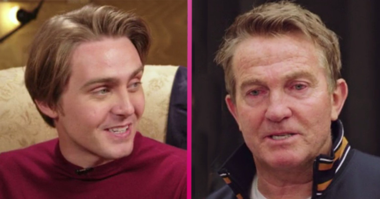 Bradley walsh and son