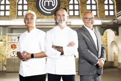 Marcus Wareing and his fellow MasChef The Professionals judges