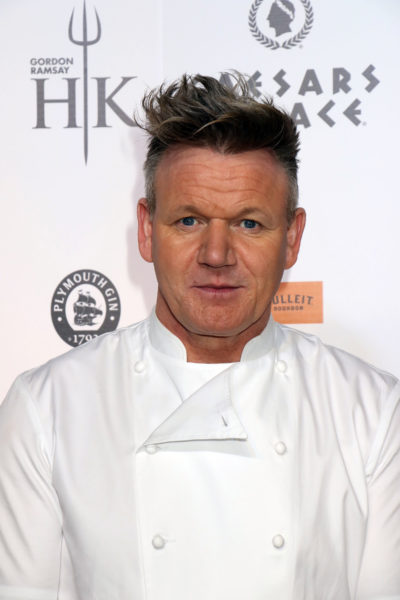 Marcus fell out with Gordon Ramsay