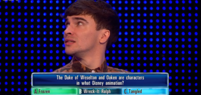 Josh on The Chase