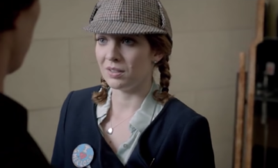 Katherine Parkinson also appeared in Sherlock