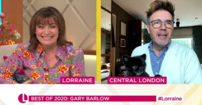 Gary Barlow mocked over 'ridiculous' lockdown hair during appearance on Lorraine