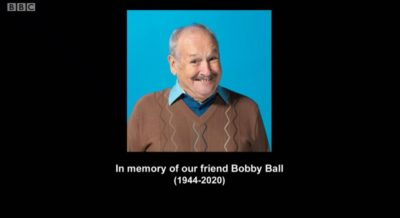 A tribute to Bobby Ball in Not Going Out