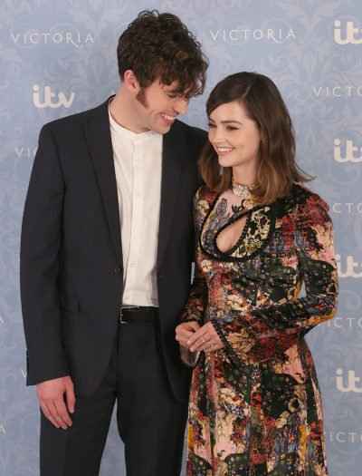 Jenna Coleman and Tom Hughes were together for four years