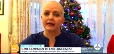 Linda Nolan on GMB talking about her cancer