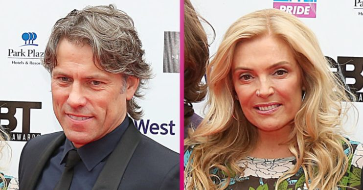 John Bishop and wife Melanie