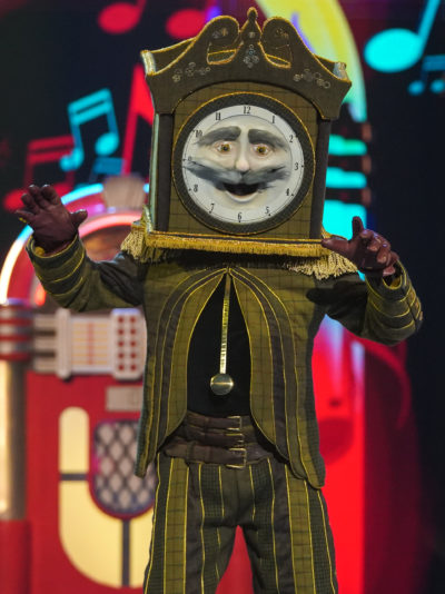 Masked Singer Grandfather Clock