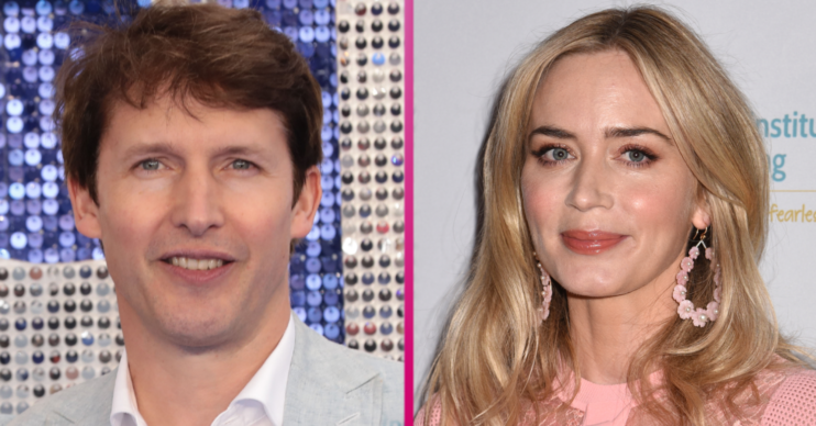 Is Emily Blunt related to James Blunt?