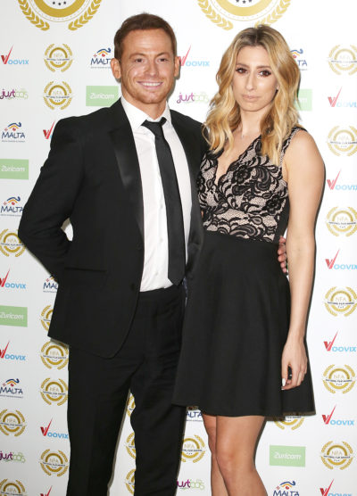 Joe Swash and Stacey Solomon celebrated their engagement