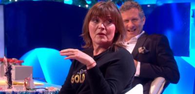 Lorraine Kelly on The Last Leg of the Year