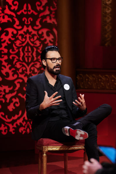 Rylan Clark-Neal on the Taskmaster New Year's special