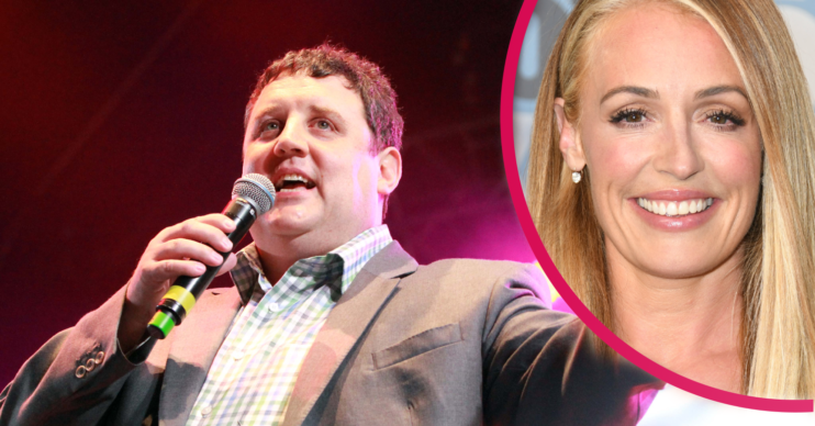 Peter Kay appeared with Cat Deeley on BBC2