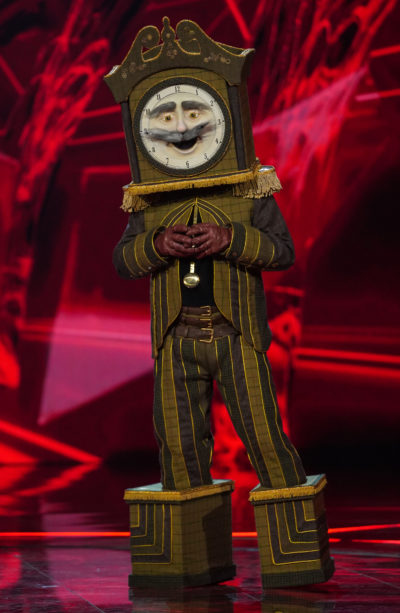 The Masked Singer Grandfather Clock