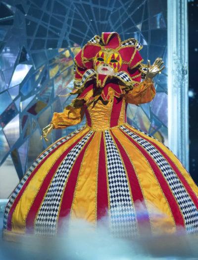The Masked Singer Harlequin