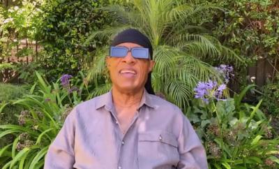 Stevie Wonder surprised Tom Jones on The Voice