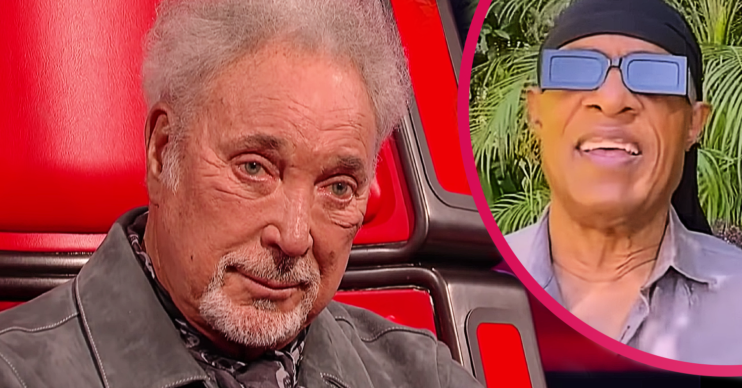 Tom Jones got emotional after Stevie Wonder sent him a birthday message