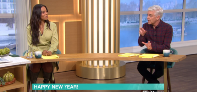Rochelle Humes and Phillip Schofield on This Morning - Where's Holly Willoughby?