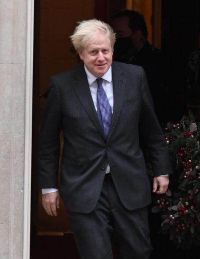 boris johnson at Downing Street