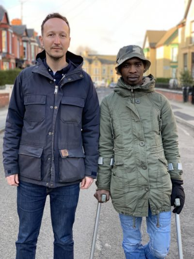 Filmmaker Rich Bentley and Themba Cabeka on Channel 4's The Man Who Fell From The Sky
