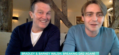 Bradley Walsh and Barney speak about Breaking Dad on This morning